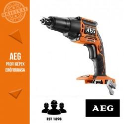 AEG BTS 18 BL-0 Akkus gipszkarton csavarozó