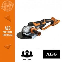 AEG BEWS 18-230 BL-0 Akkus sarokcsiszoló