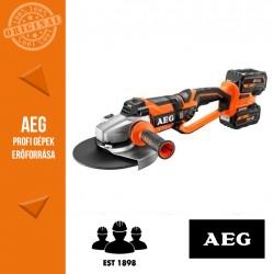 AEG BEWS 18-230 BL LI-602C Akkus sarokcsiszoló