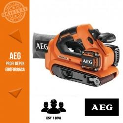 AEG BHBS 18-75 BL-0 Akkus szalagcsiszoló