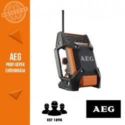 AEG BR 1218C-0 Akkus rádió