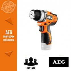 AEG BS 12 C2-0 Akkus kompakt fúró-csavarbehajtó