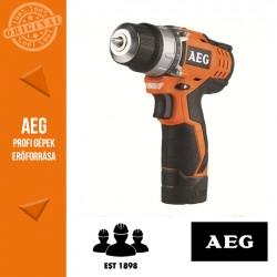 AEG BS 12 C2 LI-202B Akkus kompakt fúró-csavarbehajtó