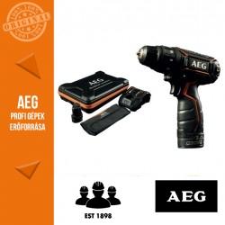 AEG BS 12 C2LE LI-202X Akkus kompakt fúró-csavarbehajtó (Fekete)