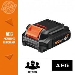 AEG L1215G3 Pro Li-ion akkumulátor, 12 V, 1.5 Ah