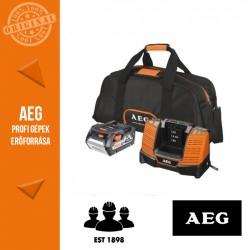 AEG SET L1850BLK 18 V-os Akkumulátor szett