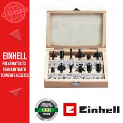 Einhell felsőmaró készlet (12 db-os)