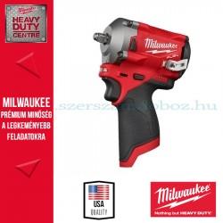 Milwaukee M12 FIW38 FUEL™ SZUPERKOMPAKT ⅜˝ ÜTVECSAVAROZÓ Alapgép