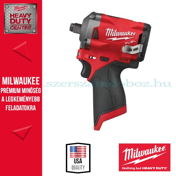 Milwaukee M12 FIWF12-0 FUEL™ SZUPERKOMPAKT ½˝ ÜTVECSAVAROZÓ Alapgép