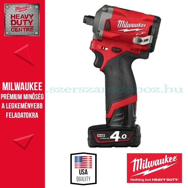 Milwaukee M12 FIWF12-422X FUEL™ SZUPERKOMPAKT ½˝ ÜTVECSAVAROZÓ