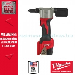 Milwaukee M12 BPRT-201X SZUPERKOMPAKT POPSZEGECSELŐ