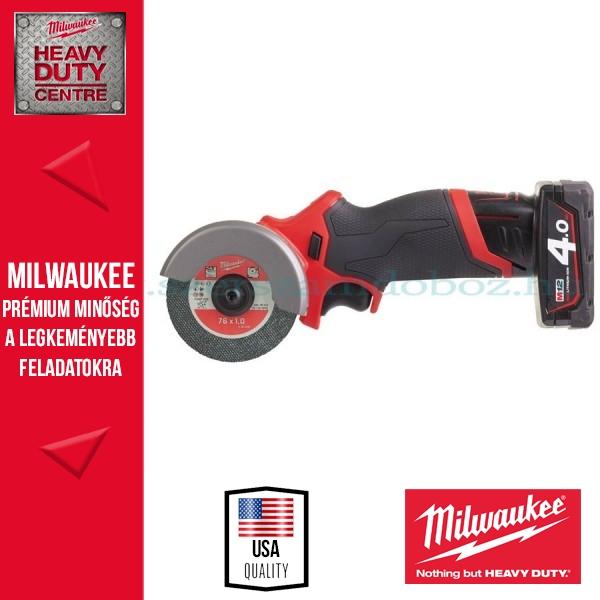 Milwaukee M12 FCOT-422X SZUPERKOMPAKT VÁGÓSZERSZÁM