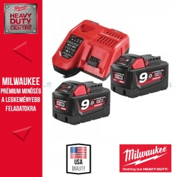 Milwaukee M18 NRG-902 akkumulátor szett