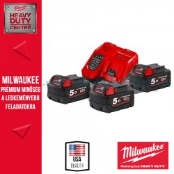 Milwaukee M18 NRG-503 akkumulátor szett