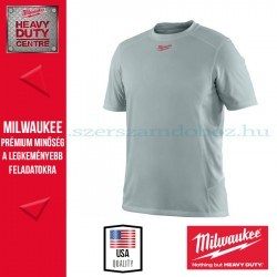 Milwaukee WWSSG rövid ujjú póló - szürke (S)