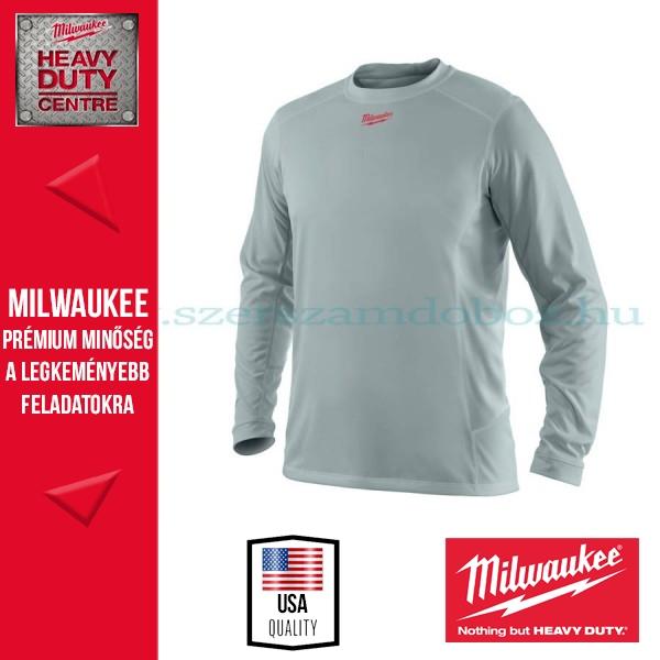 Milwaukee WWLSG WORKSKIN™ TECHNIKAI HOSSZÚ UJJÚ PÓLÓ SZÜRKE (XL)