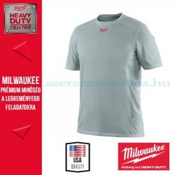 Milwaukee WWSSG rövid ujjú póló - szürke (2XL)