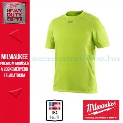 Milwaukee WWSSY rövid ujjú póló - láthatósági (L)
