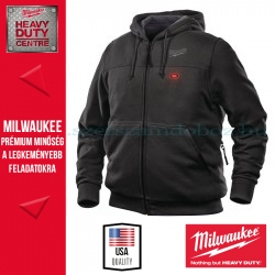 Milwaukee M12 HH BL3-0 FŰTHETŐ KAPUCNIS PULÓVER-FEKETE (2XL)