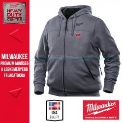 Milwaukee M12 HH GREY3-0 FŰTHETŐ KAPUCNIS PULÓVER-SZÜRKE (S)