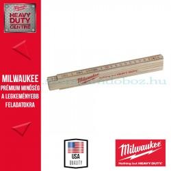 Milwaukee ÖSSZECSUKHATÓ KESKENY FA MÉRŐLÉC (COLOSTOK) 2M 1 DB