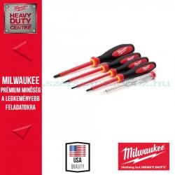 Milwaukee VDE 5 DARABOS KÉSZLET SL3, SL4, PZ1,  PZ2, TESTER