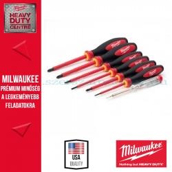 Milwaukee VDE 7 DARABOS KÉSZLET SL2,5, SL3, SL4, PH2, PZ1, PZ2 TESTER