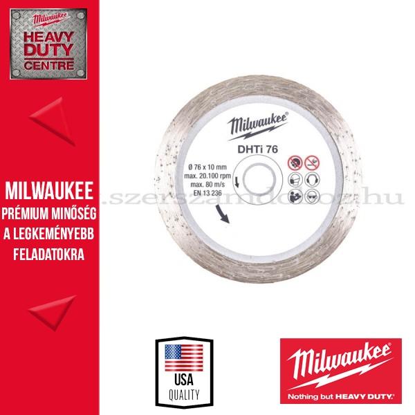 Milwaukee GYÉMÁNT VÁGÓTÁRCSA 76mm