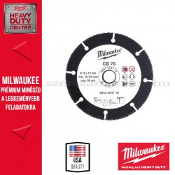 Milwaukee KARBID VÁGÓKORONG 76mm