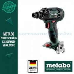 Metabo SSW 18 LTX 300 BL ÜTVECSAVAROZÓ ALAPGÉP (METALOC KOFFERBEN)