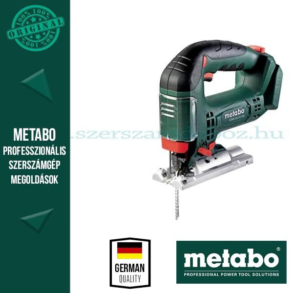 Metabo STAB 18 LTX 100 AKKUS SZÚRÓFŰRÉSZ ALAPGÉP (METALOC KOFFERBEN)