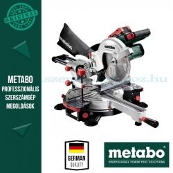 Metabo KGS 18 LTX 216 AKKUS GÉRVÁGÓ FŰRÉSZ