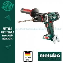 Metabo BS 18 LTX IMPULS AKKUS FÚRÓCSAVAROZÓ ALAPGÉP (METALOC KOFFERBEN)
