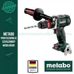 Metabo BS 18 LTX BL Q I AKKUS FÚRÓCSAVAROZÓ ALAPGÉP (METALOC KOFFERBEN)