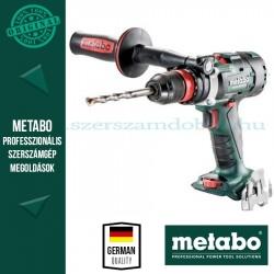 Metabo BS 18 LTX-3 BL Q I AKKUS FÚRÓCSAVAROZÓ ALAPGÉP (METALOC KOFFERBEN)
