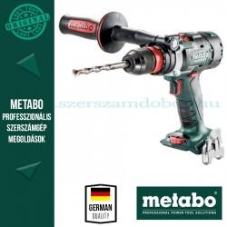Metabo BS 18 LTX-3 BL Q I AKKUS FÚRÓCSAVAROZÓ ALAPGÉP (METALOC KOFFERBETÉTBEN)