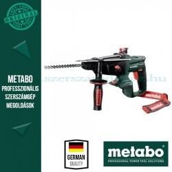 Metabo KHA 18 LTX AKKUS KOMBIKALAPÁCS ALAPGÉP (METALOC KOFFERBEN)