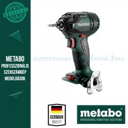 Metabo SSD 200 LTX 200 BL AKKUS ÜTVECSAVAROZÓ ALAPGÉP (METALOC KOFFERBETÉTBEN)