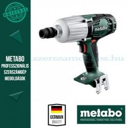 Metabo SSW 18 LTX 600 AKKUS ÜTVECSAVAROZÓ ALAPGÉP (METALOC KOFFERBEN)