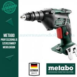 Metabo SE 18 LTX 2500 Akkus gipszkarton csavarbehajtó alapgép (Metaloc kofferben)