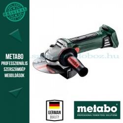 METABO W 18 LTX 150 QUICK AKKUS SAROKCSISZOLÓ ALAPGÉP (METALOC KOFFERBEN)