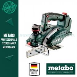 METABO HO 18 LTX 20-82 AKKUS GYALUGÉP ALAPGÉP (METALOC KOFFERBEN)