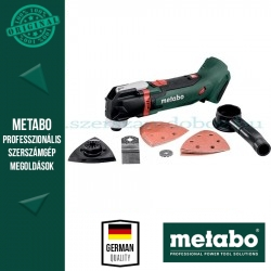 METABO MT 18 LTX AKKUS MULTI SZERSZÁM ALAPGÉP (METALOC KOFFERBEN)