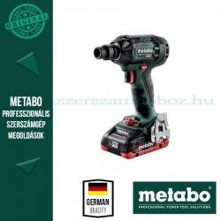 METABO SSW 18 LTX 300 BL AKKUS ÜTVECSAVAROZÓ