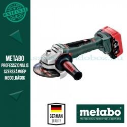Metabo WB 18 LTX BL 125 QUICK