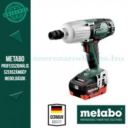 METABO SSW 18 LTX 600 AKKUS ÜTVECSAVAROZÓ (2x LiHD 5.5 Ah)