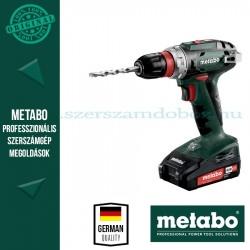 METABO BS 18 QUICK AKKUS FÚRÓCSAVAROZÓ (2x2.0Ah, SC 60 Plus töltővel)