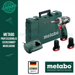 METABO POWERMAXX BS BASIC SET AKKUS FÚRÓCSAVAROZÓ