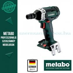 METABO SSW 18 LTX 200 AKKUS ÜTVECSAVAROZÓ ALAPGÉP (METALOC KOFFERBEN)