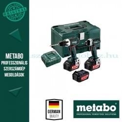 METABO COMBO SET 2.1.1 18 V  BS 18 LT AKKUS FÚRÓCSAVAROZÓ + SSD 18 LTX 200  AKKUS ÜTVECSAVAROZÓ